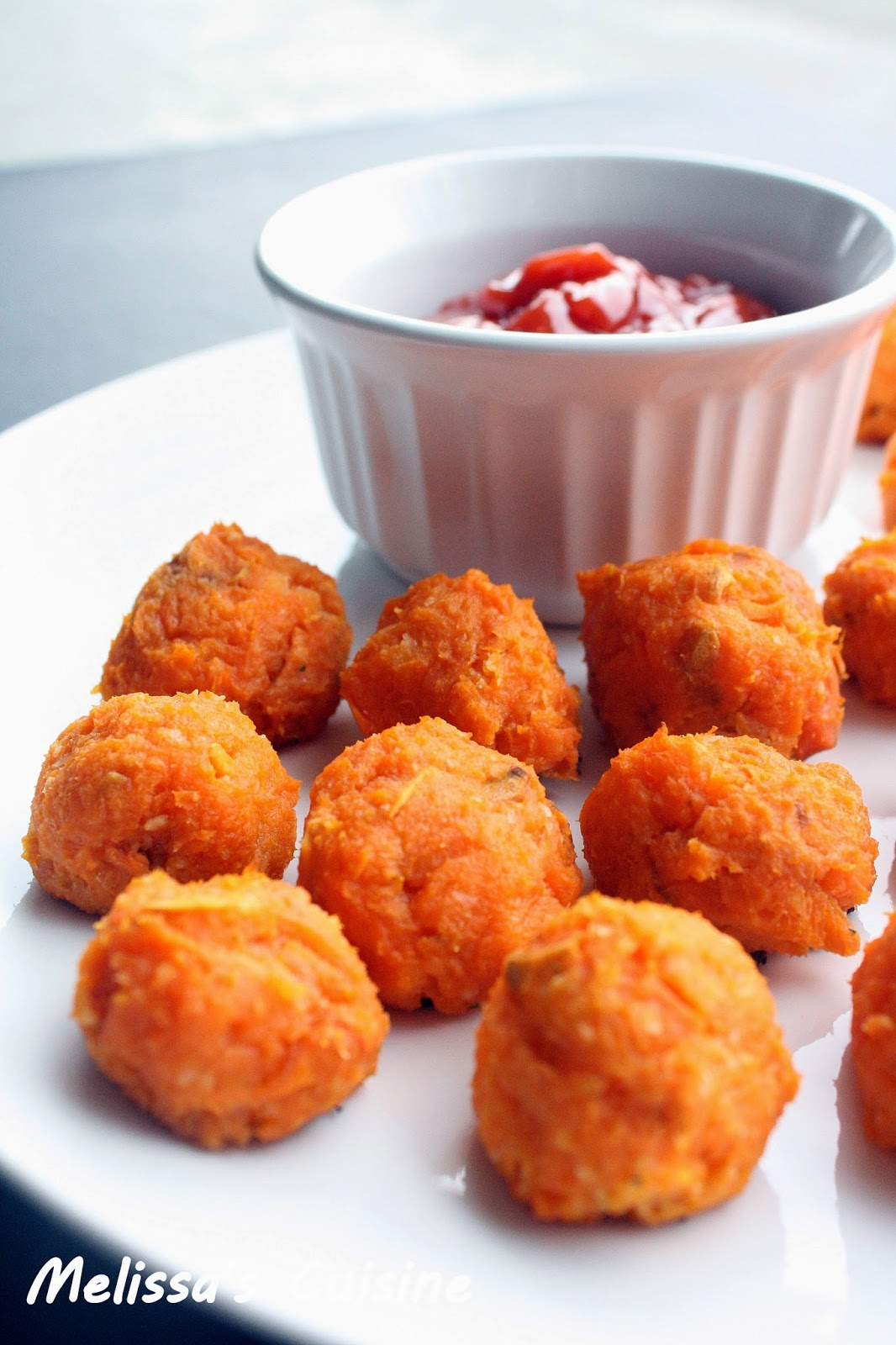 ... cheese , make up these delicious and healthy Sweet Potato Tots