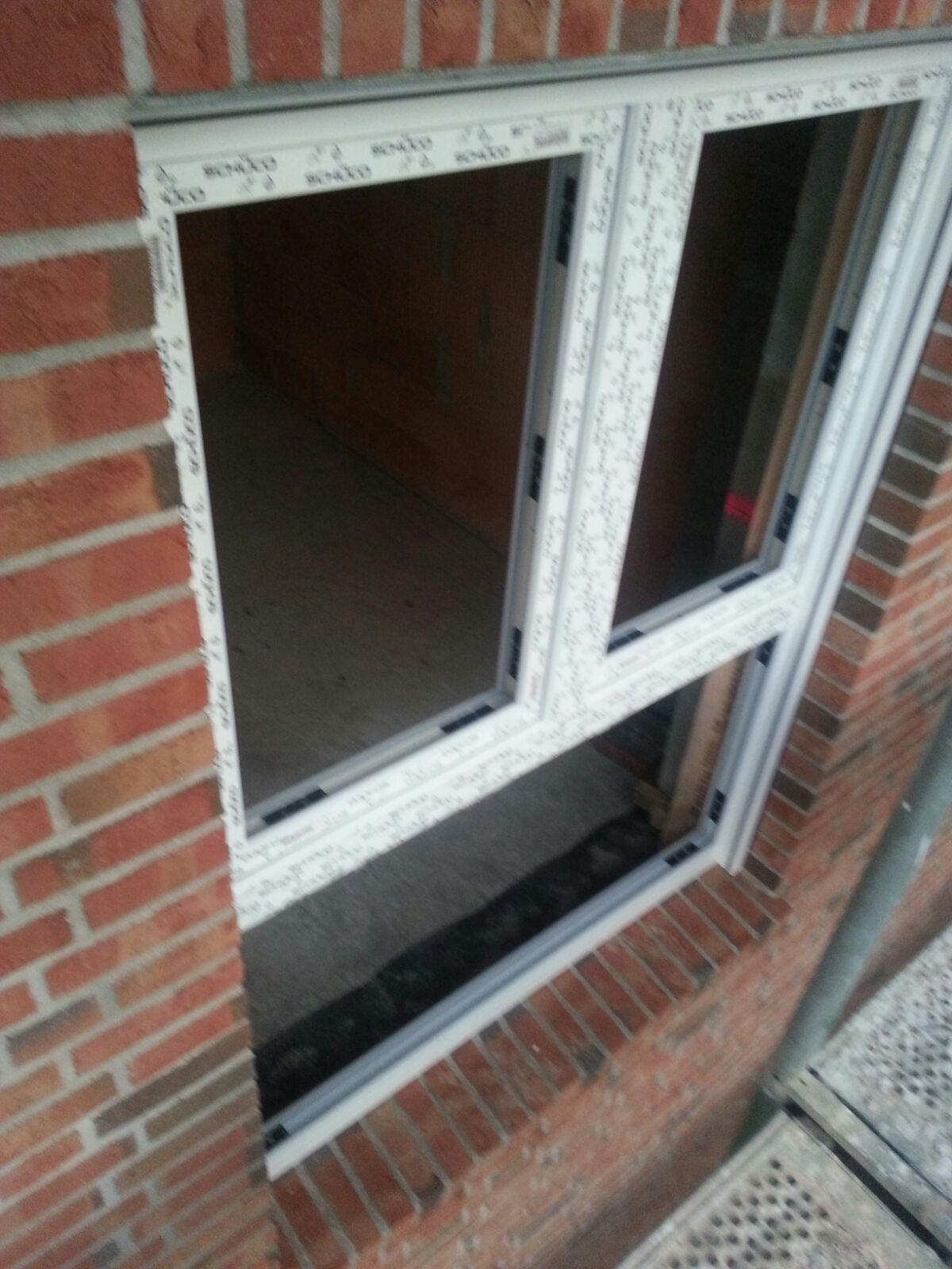 Bautagebuch von rike und torben for Fenster englisch