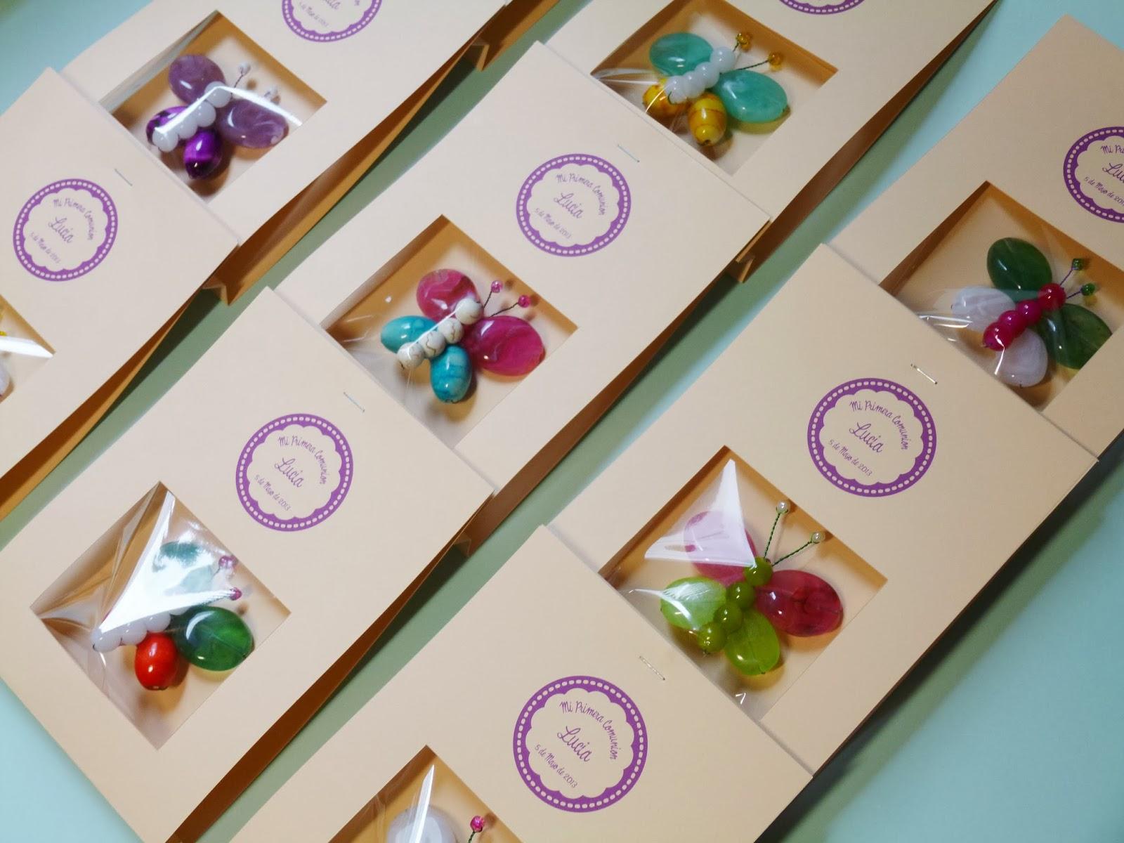mariposa bonita original regalos comunion hecho a mano