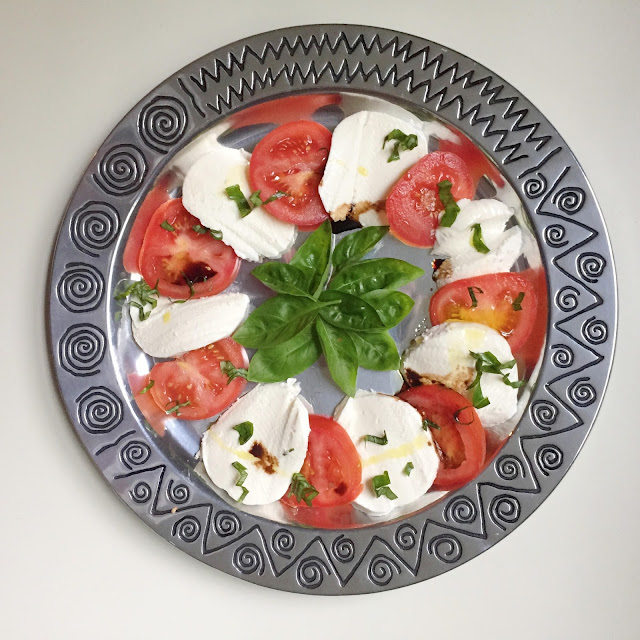 Salad, Recipe, Lunch, Caprese, Vegetarian