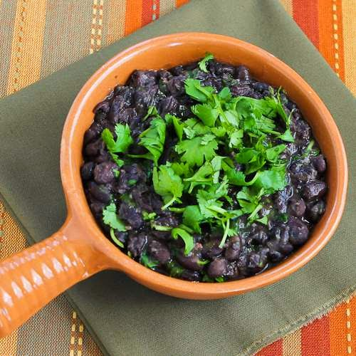 Slow Cooker Puerto Rican Black Beans with Sofrito and Cilantro from ...