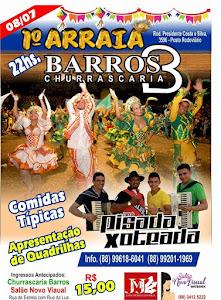 CHURRASCARIA BARROS DIA 08 DE JULHO