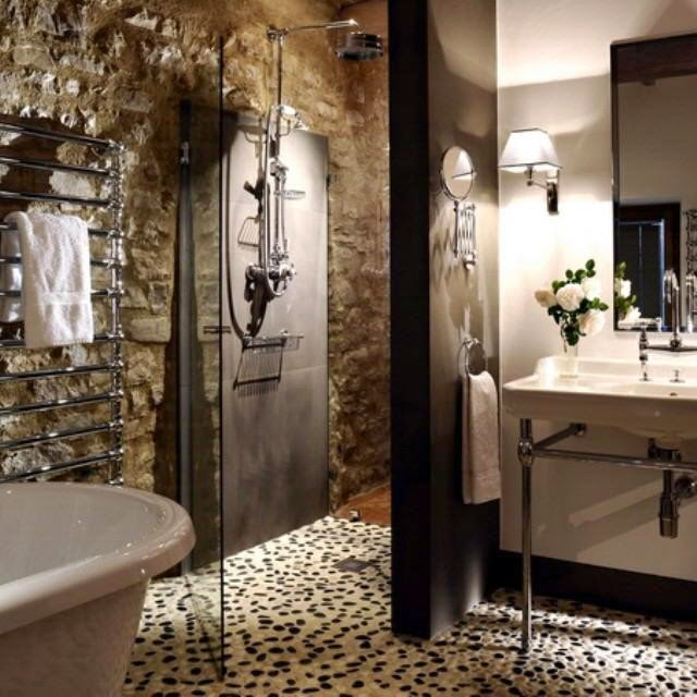 Habitually chic castello di reschio Italian bathrooms