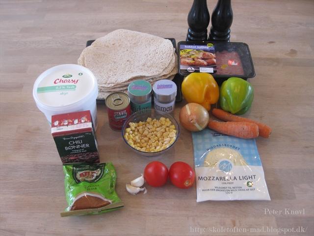 tilberedning af majskolber