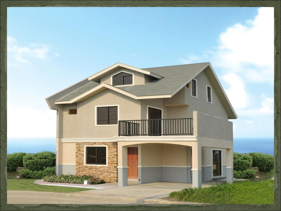 Zabrina dream home design of lb lapuz architects for House garage design philippines