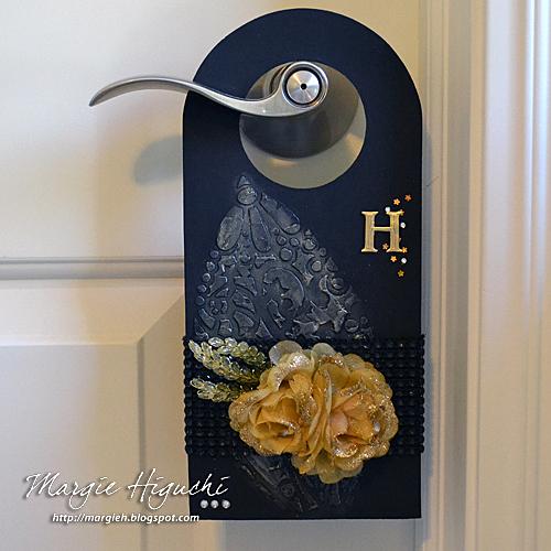 SCRAPS of (my) Life: An Elegant Door Knob Hanger Tutorial