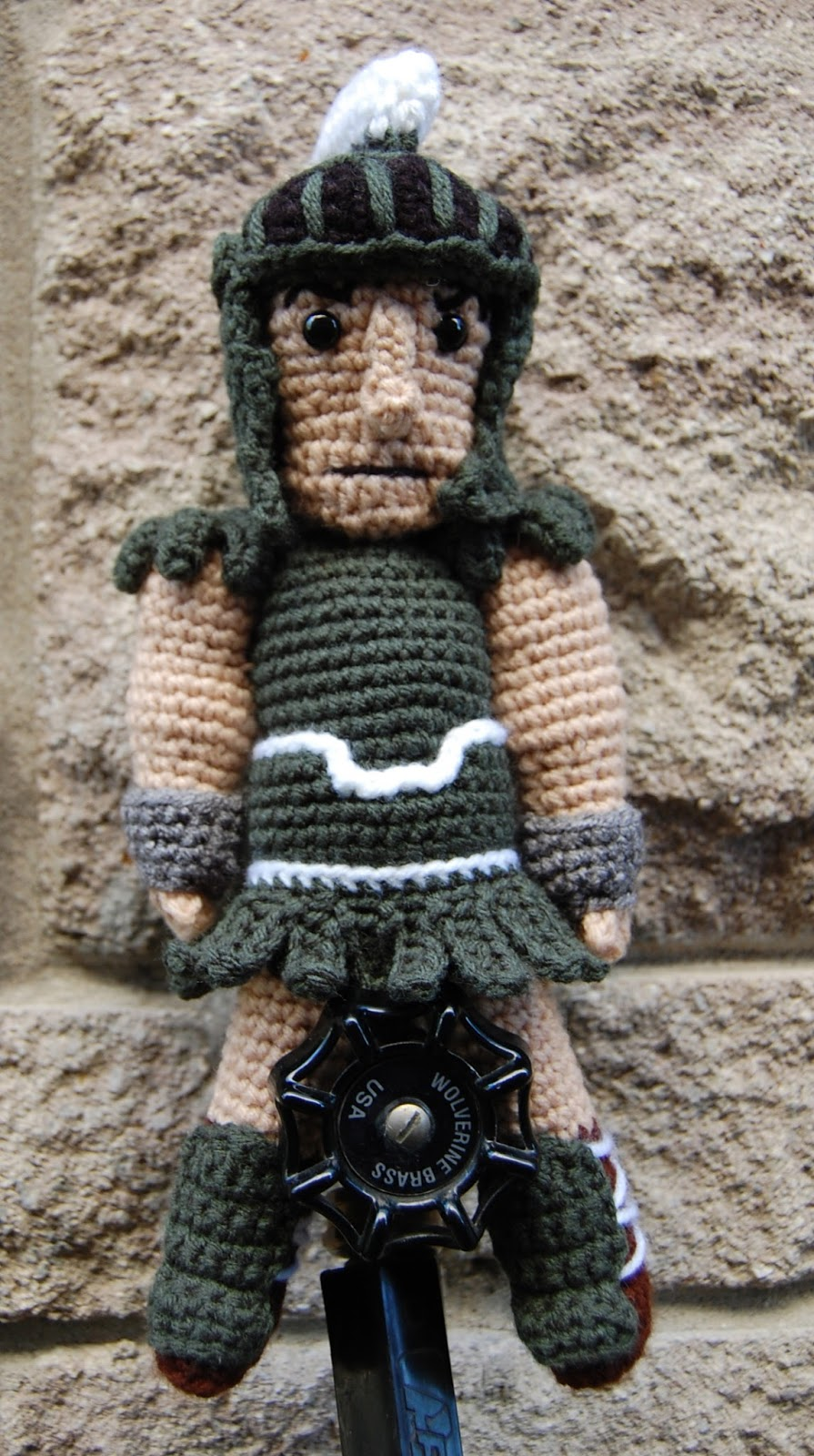 Roonie Ranching Coreys Sparty Doll A Free Crochet Amigurumi Pattern