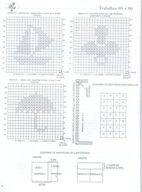 схемки филейного вязания