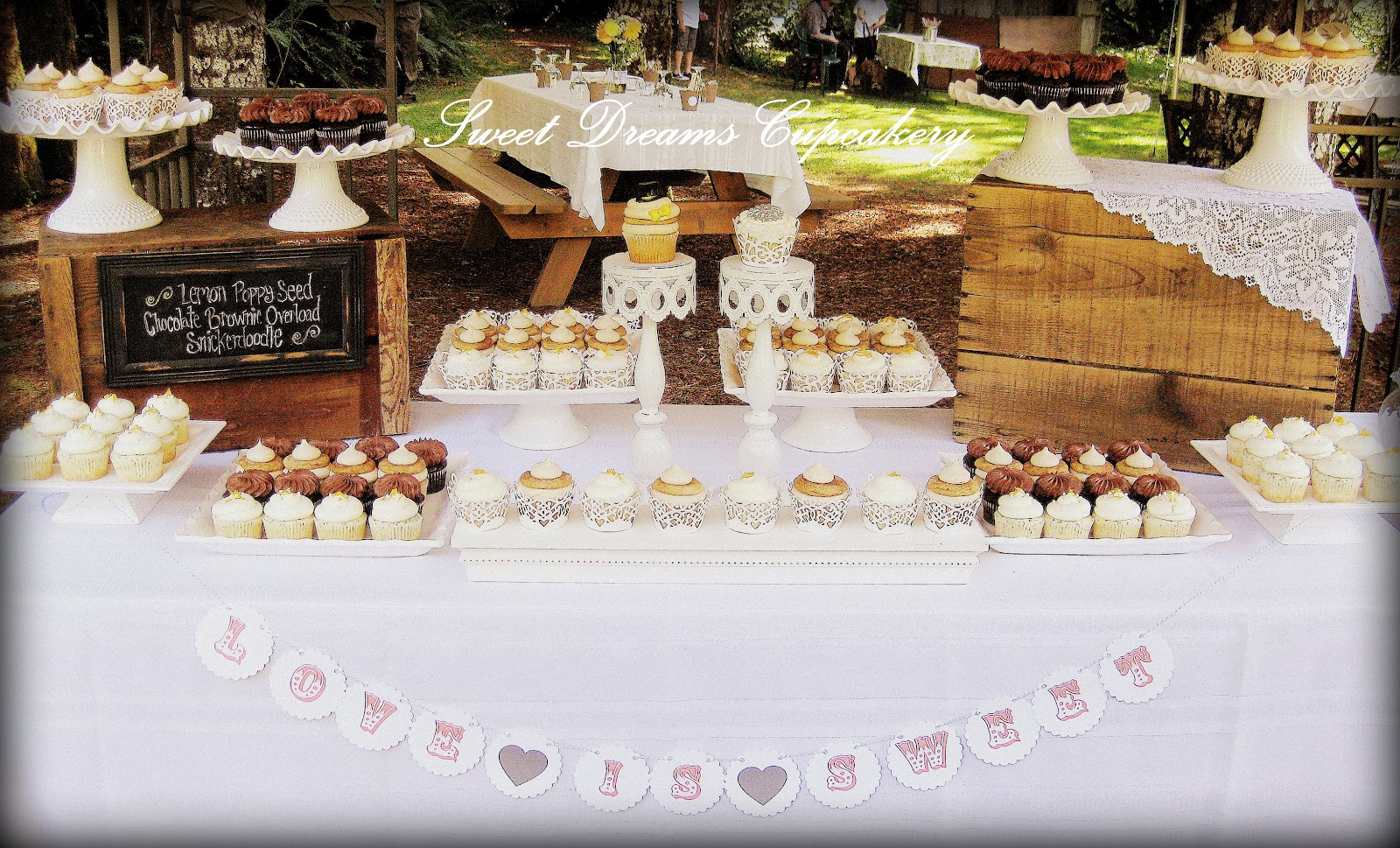 Display Cakes Tables Wedding Cupcakes Dreams