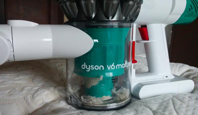 Dyson V6 Mattress - particles