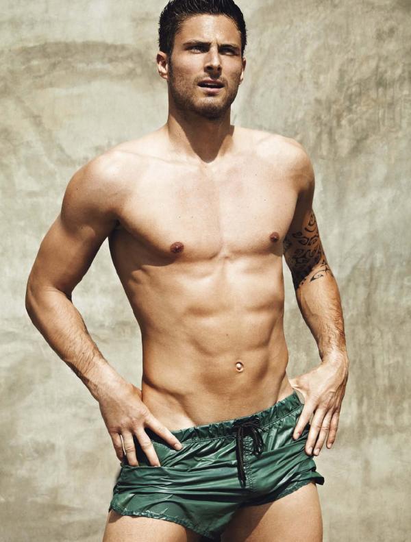 Olivier Giroud: Los 10 futbolistas más guapos y sexys