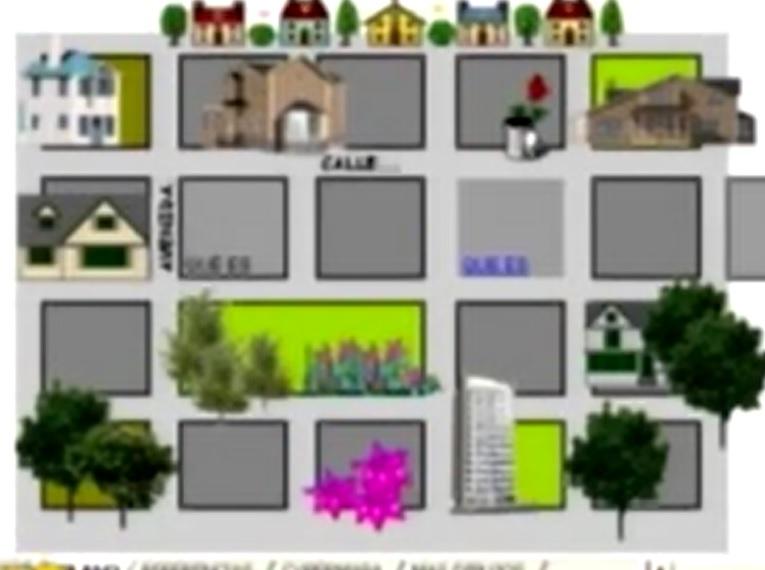 Planos De Un Barrio Para Colorear Imagui