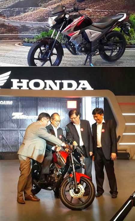 New Honda MegaPro FI