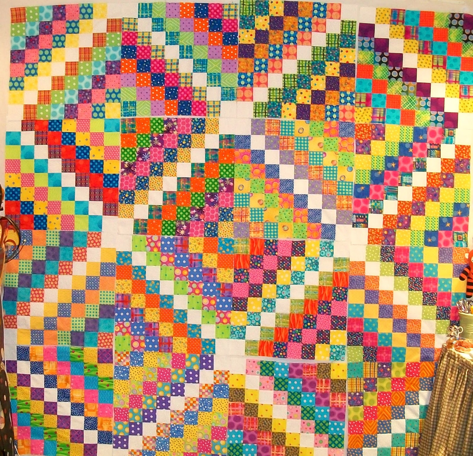 Funoldhag: Almost There - And a Quilt That has me Thinking