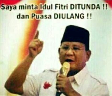Pernyataan Sikap Prabowo ( Tanpa Hatta ) terhadap Hasil Rekapitulasi Pilpres Nasional KPU