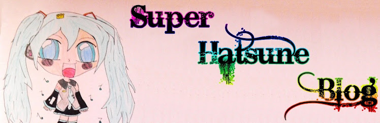 Super Hatsune Blog