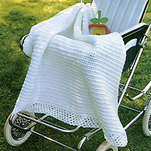 Crochet Patterns Using Sport Weight Yarn : Everyday Life at Leisure: Top 10 Crocheted Baby Afghan ePatterns