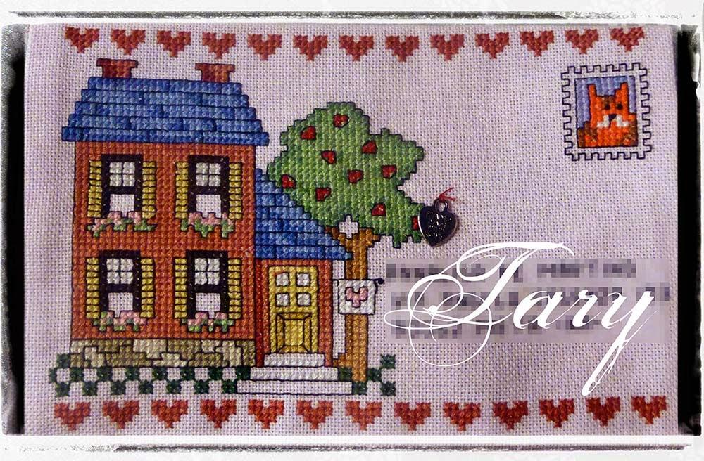Tary 39 s sweet home arte postale l 39 angelo della casa - Arte della casa ...