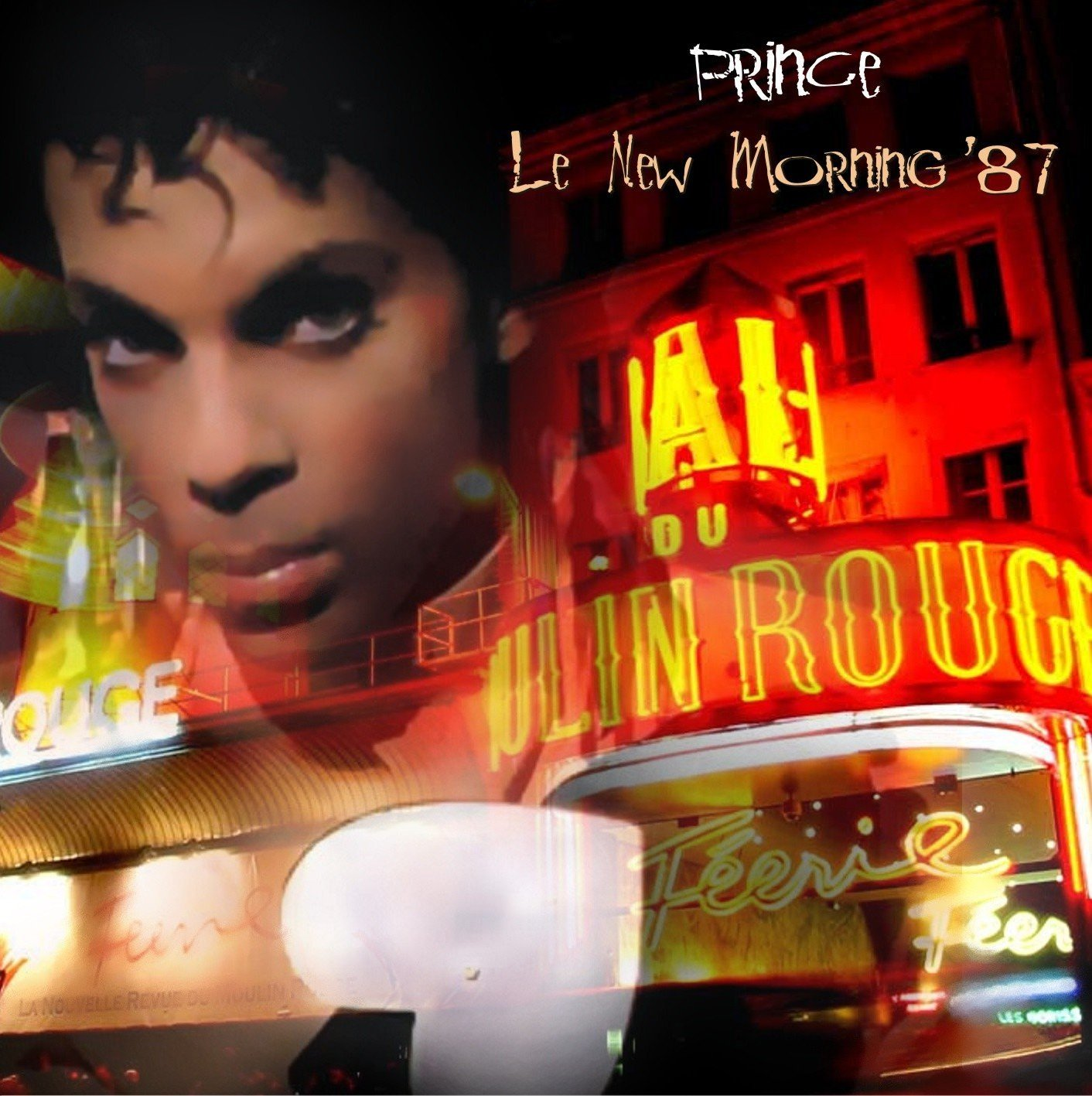 Prince - Le New Morning, Paris, 15 June 1987 -AfterShow- (CD & Covers ...