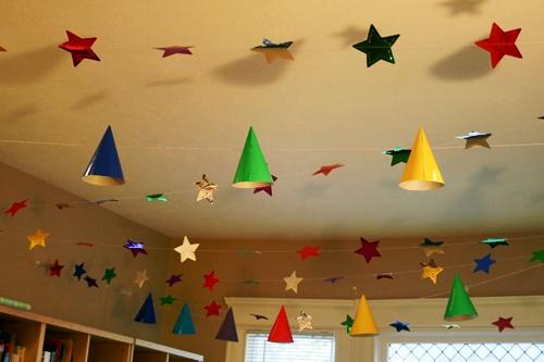 decoracion de techos para fiestas infantiles