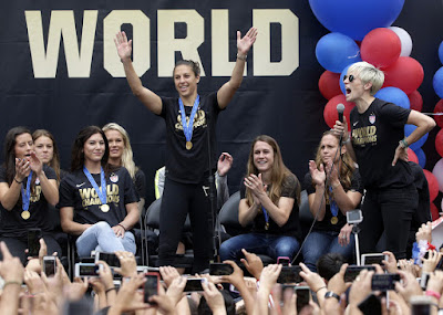 US Women's National Team to play in Seattle on World Cup victory tour