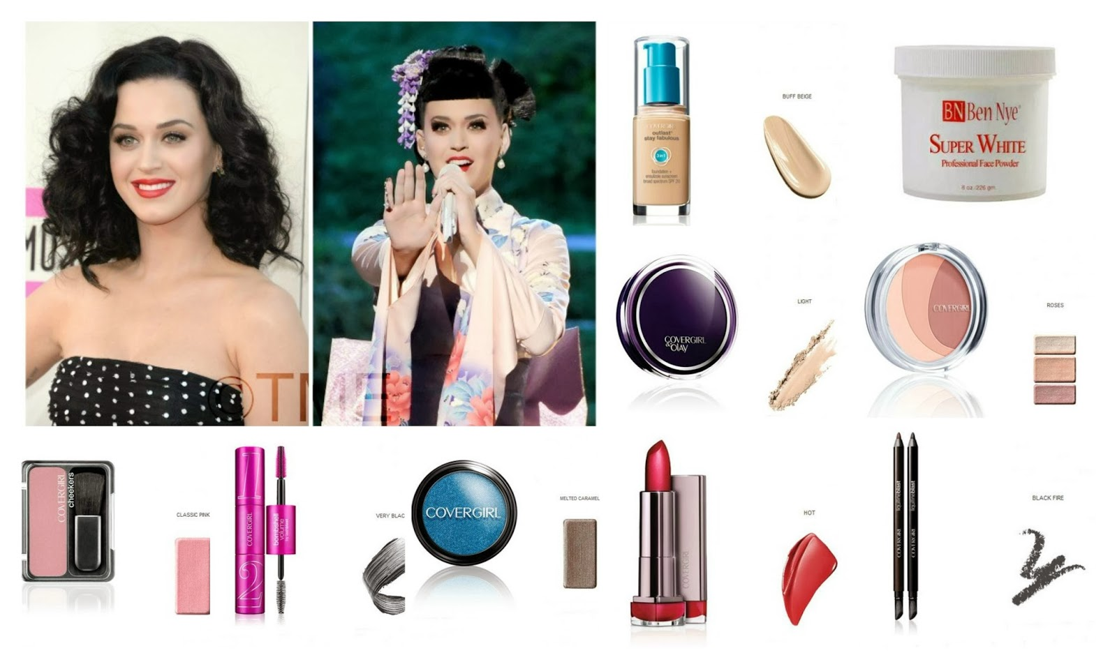 The makeup examiner november 2013 katy perrys performance look for katys performance we created a look inspired by her recent trip to japan this was a dramatic look and we only had a nvjuhfo Images