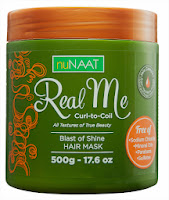 NuNaat Real Me Blast of Shine Hair Mask
