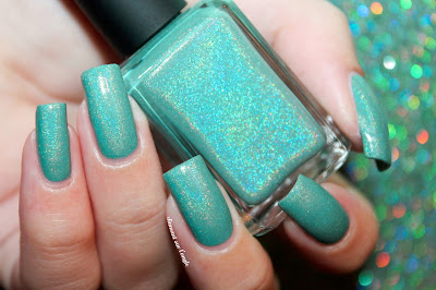 "Swatch of the nail polish ""Unicorn Symphony"" from Chaos & Crocodiles"