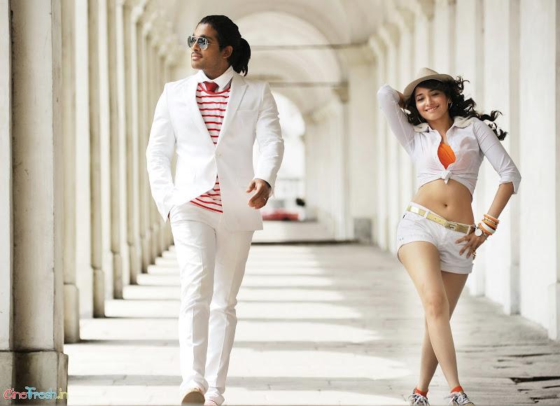 Badrinath Movie Latest Stills Allu arjunTamanna badrinath Photo Stills leaked images