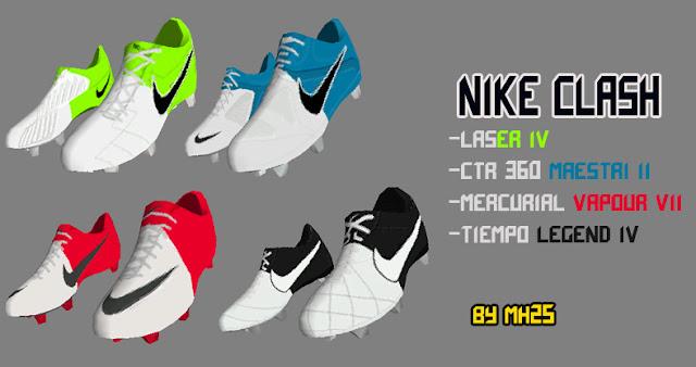 preview FIFA 12: Chuteiras Nike Clash (Coleção 2012)