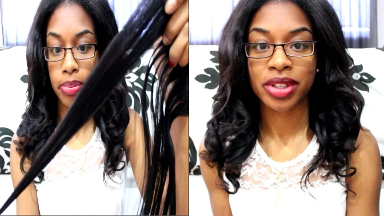 Clip Ins Clip-ins on Relaxed Hair | ft