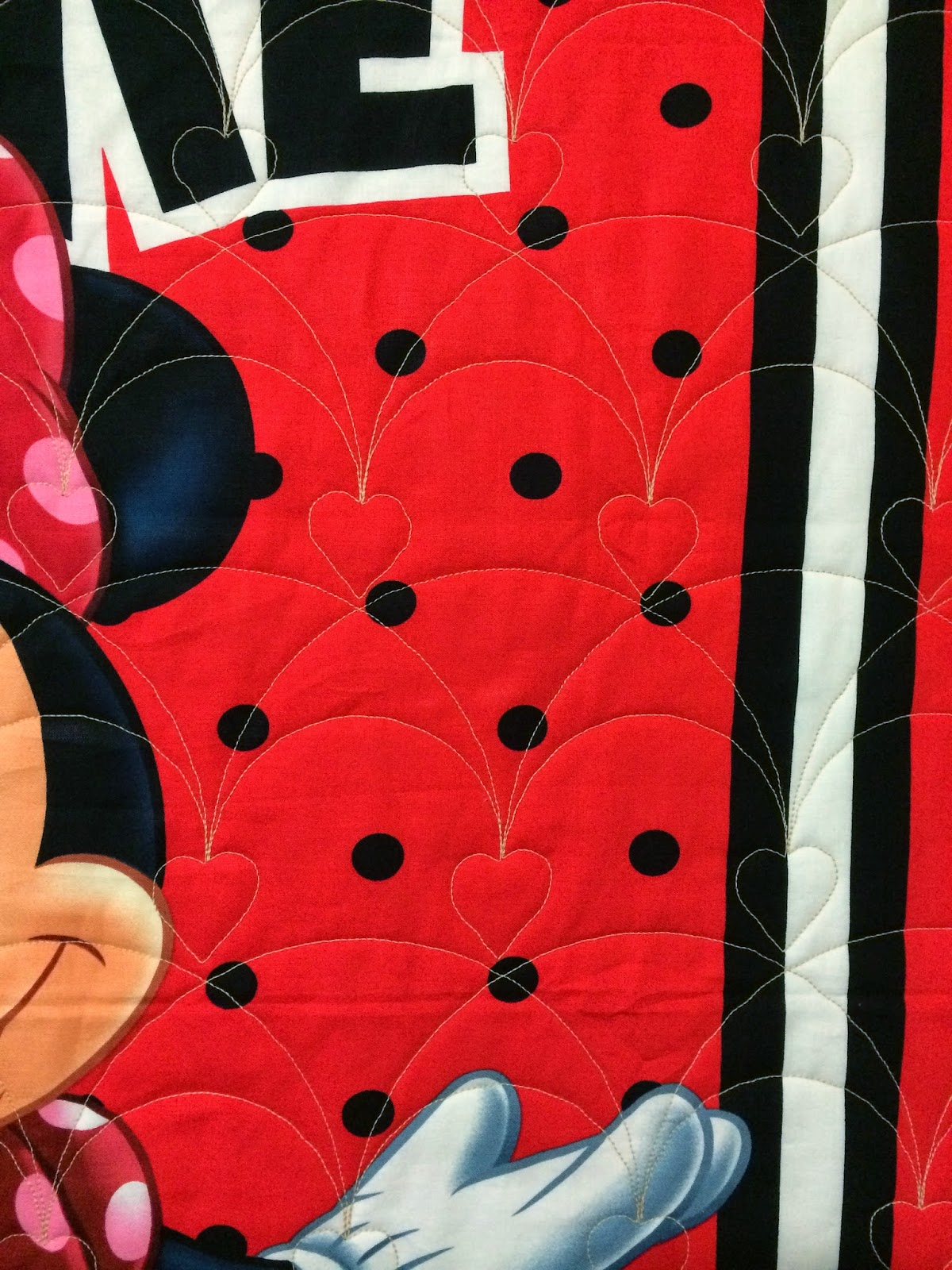Elizabeth Magee Minnie Mouse Quilt
