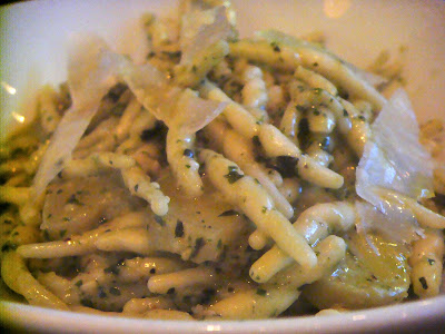 Trophie con pesto at Coppa, Boston, Mass.