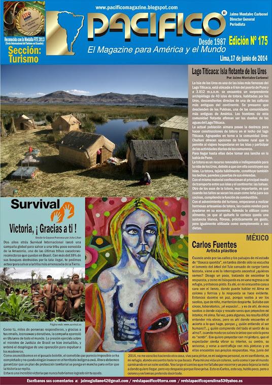 Revista Pacífico Nº 175 Turismo