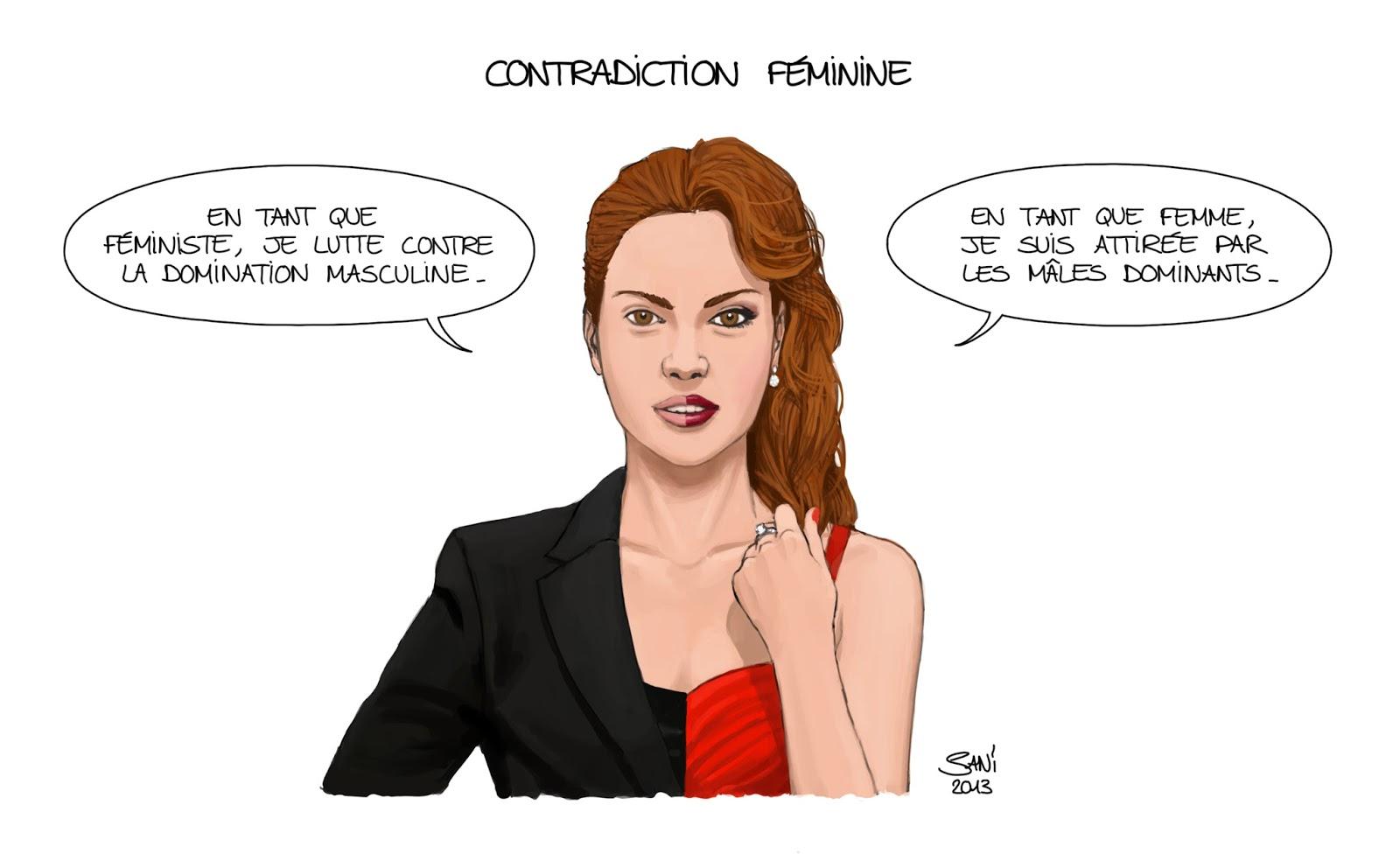 Favori SANI: Contradiction féminine DL03
