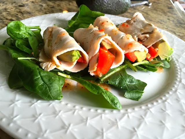 Turkey Avocado Rollups