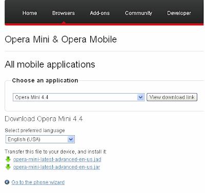 download opera mini 4 jar peperonity
