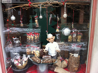 chocolate shop christmas decoration
