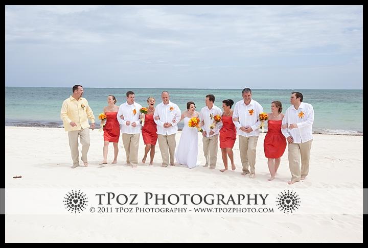 Cancun Destination Wedding on the beach