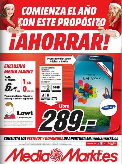 Media Markt Nuevo Año 2015 España
