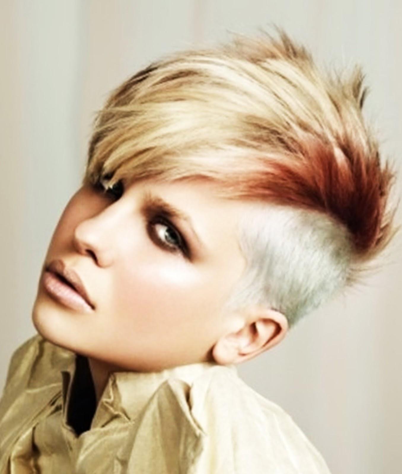 Mohawk Hairstyles For Women: Modern Look! | Hairstyles Spot