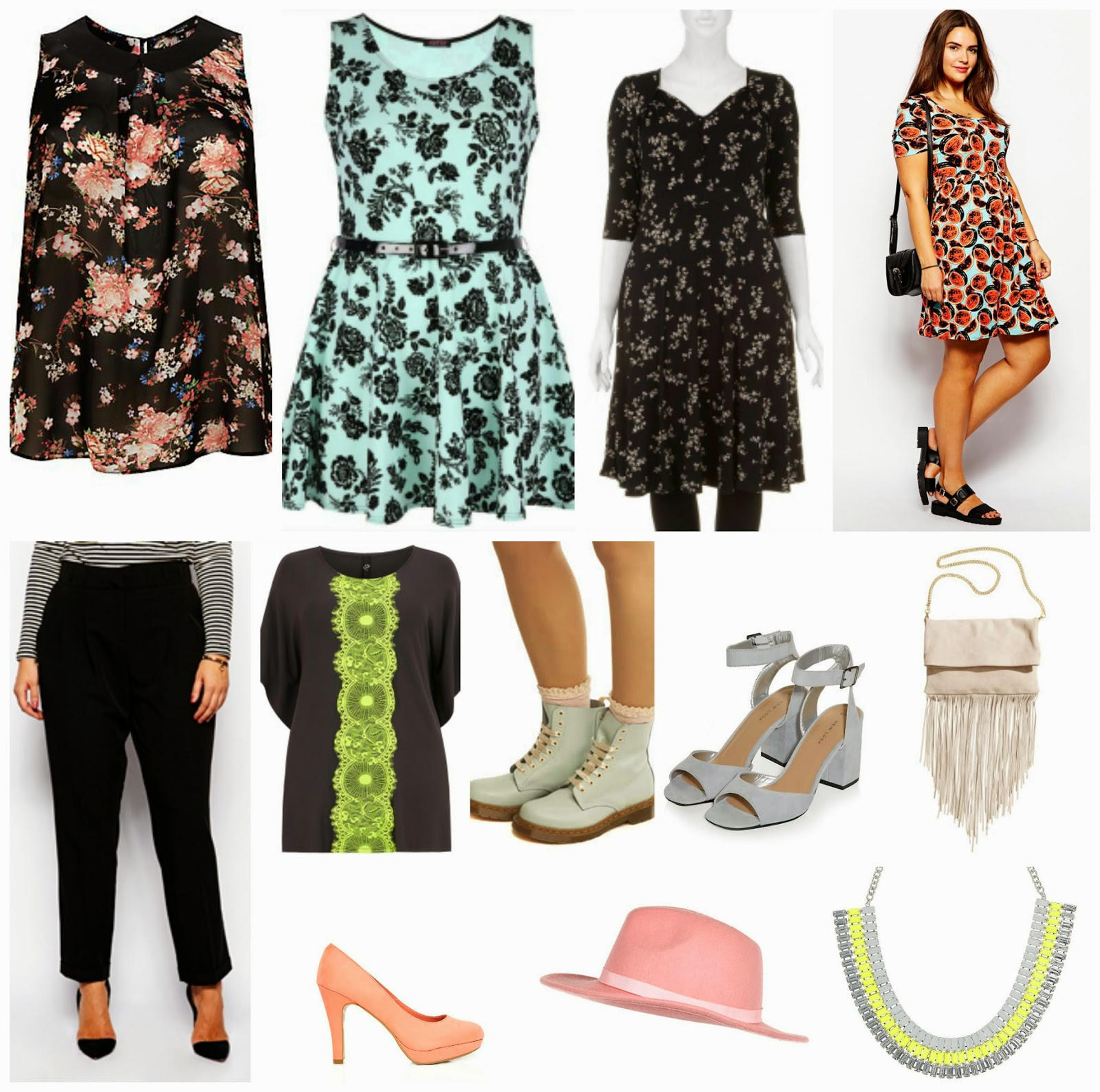 Spring Plus Size Fashion Wishlist