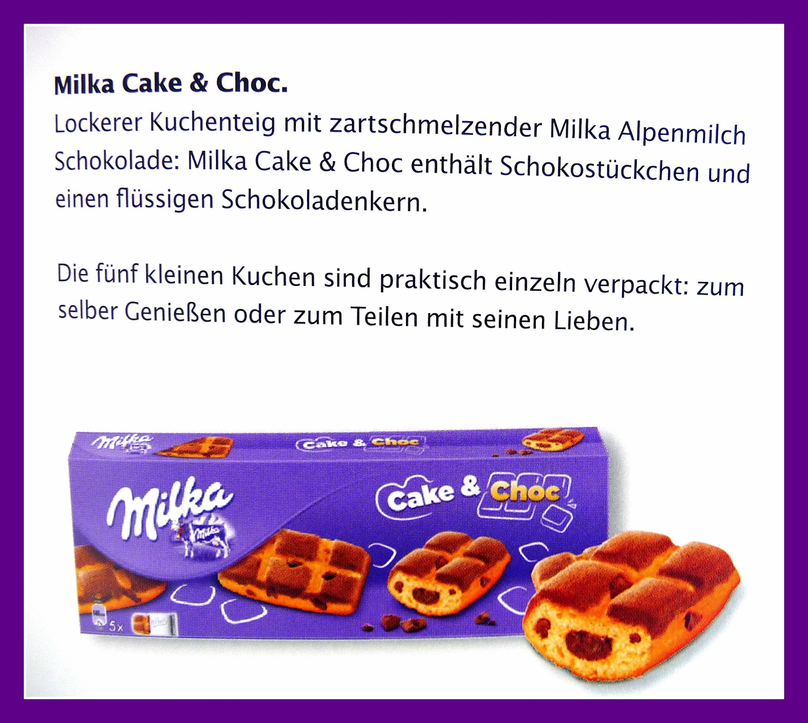Milka - Kekse und Kuchen