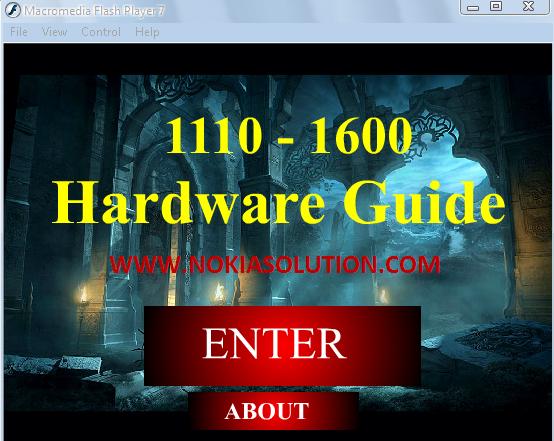 Nokia 1600 Hardware Repairing Exe Contains