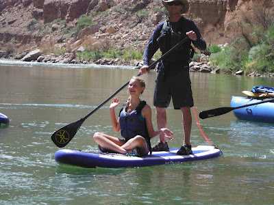 crossing the Grand Canyon on a Stand Up Paddleboard