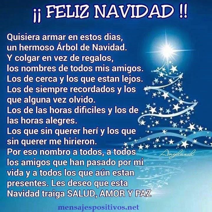 Mensaje positivo feliz navidad - Textos para felicitar la navidad y el ano nuevo ...