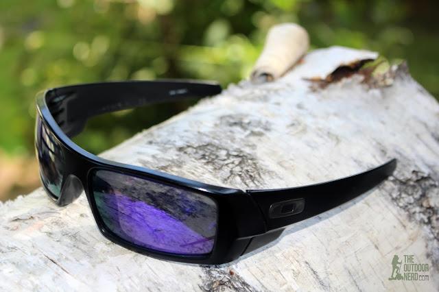 Walleva Replacement Lenses For Oakley GasCan Sunglasses - Purple Lenses 1