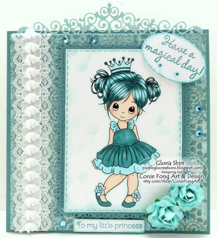Featured Card at Monochrome Magic Challenge Blog
