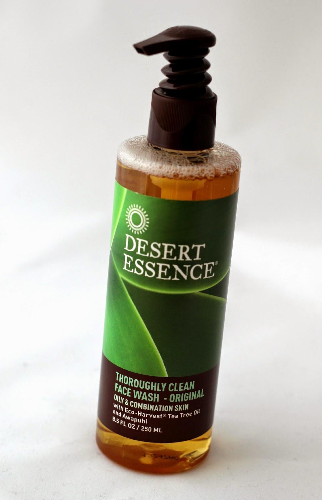 Desert Essence Thoroughly Clean Face Wash Original