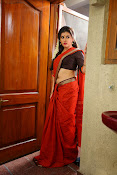 Archana veda in red saree photos-thumbnail-9